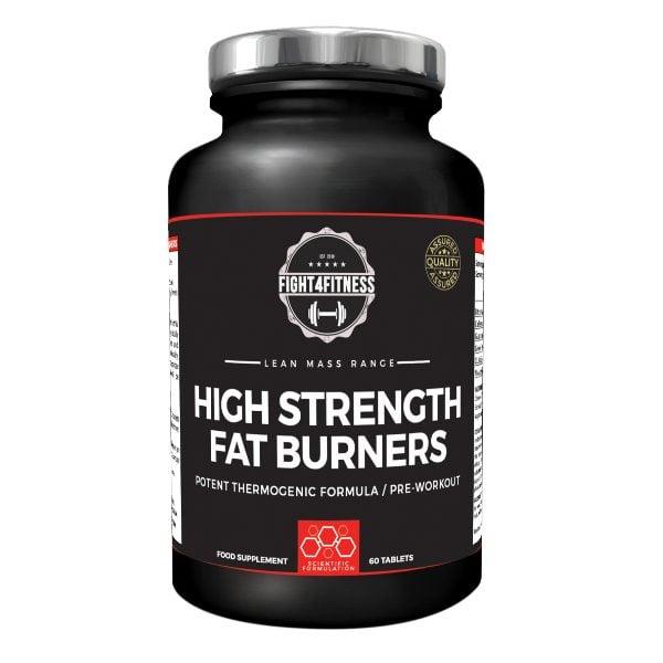 High strength fat burners