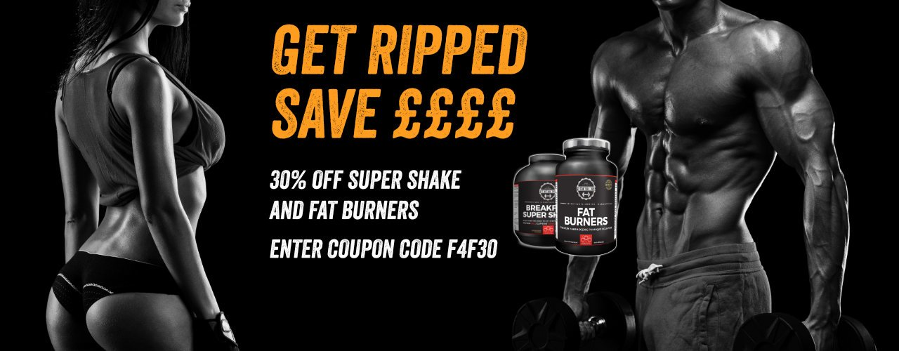 Money off fitness supplements, fat burners, super shake, weight gain